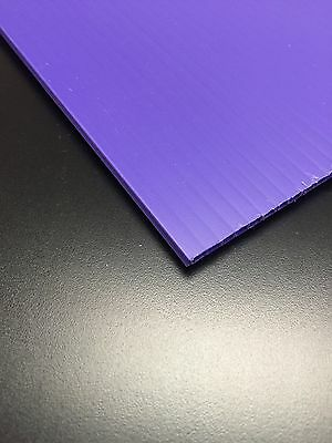 4mm Purple 36 In X 24 In 4 Pack Corrugated Plastic Coroplast Sheets Sign
