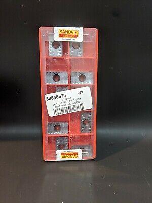 10 Pcs Sandvik Coromant Lpmh250610 Pm Grade 1130 Carbide Milling Insert