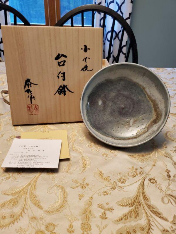 Inoue Taishu Japanese Shodai Bowl Pottery