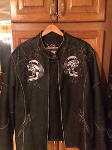 Affliction Leather Jacket