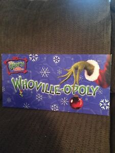 The Grinch Monopoly Game
