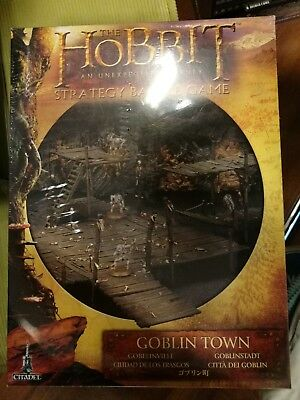 Der Hobbit, Goblinstadt, Games Workshop, Goblin Town, An unexpected journey