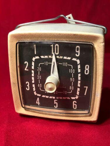 Vintage General Electric Kitchen Darkroom Wind-Up Mechanical Timer 120 Min WORKS