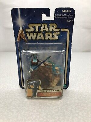 Star Wars Attack Of The Clones Aayla Secura Action Figure KG JP2
