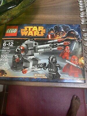 Lego Star Wars #75034 Death Star Troopers (NEW)