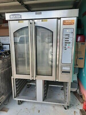 Baxter Rack Oven Electric Ov300e Convection Cake Oven Hobart Bread Oven