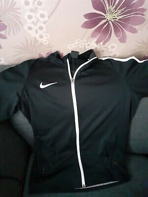 Nike Mens Tribute Full Zip Top Track Jacket Black size M