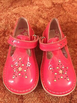 GENUINE GIRLS PINK KICKERS SHOES IN SIZE 9 (EUR 25) UNBOXED