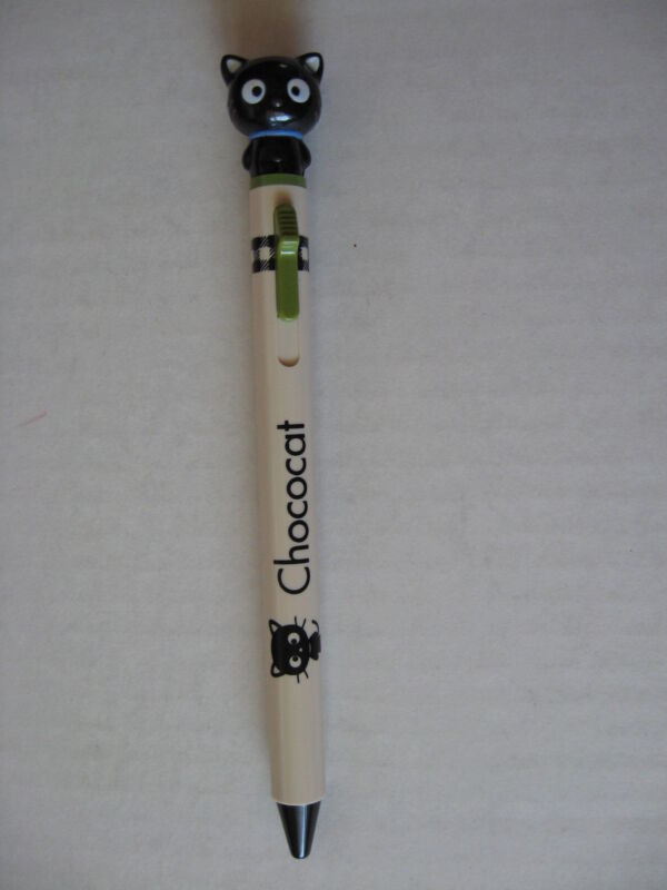 SANRIO CHOCOCAT BALLPOINT PEN CHECK CO  VINTAGE NEW 1996