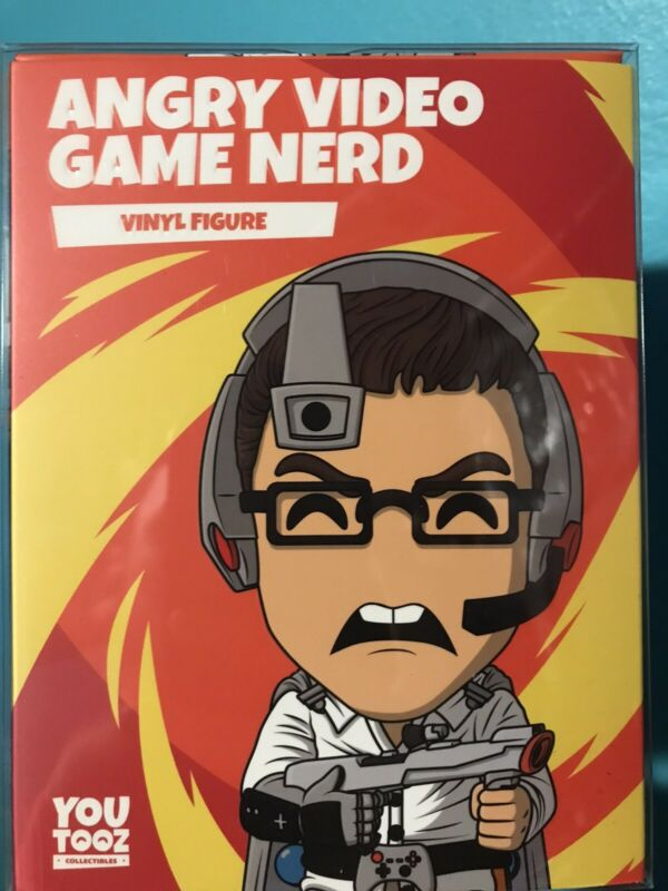 youtooz angry video game nerd, In hand! *perfect condition*
