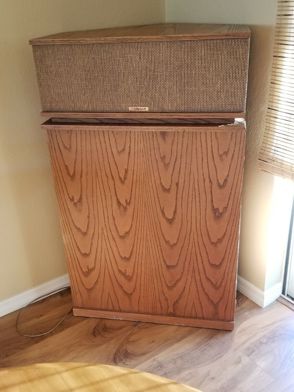 Photo Klipsch Klipschorn speaker system * TYPE KB00