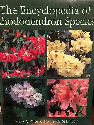 - Encyclopedia of Rhododendron Species Peter Cox Types Hybrids Varieties Shrubs