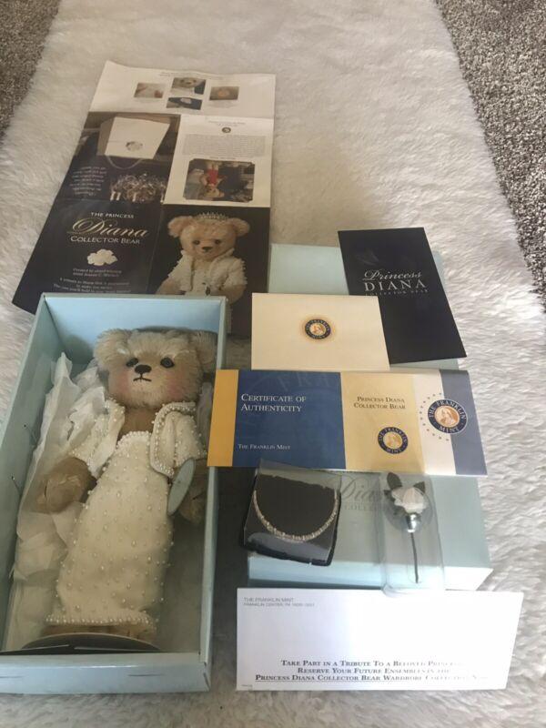 """The Princess Diana Collector Bear 12"""""""