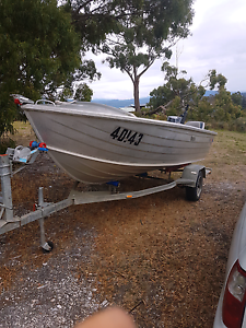 Aluminum 420 dory Quintrex Cygnet Huon Valley Preview