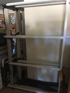 corner window frame