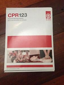 CPR 123 personal learning program Carlisle Victoria Park Area Preview