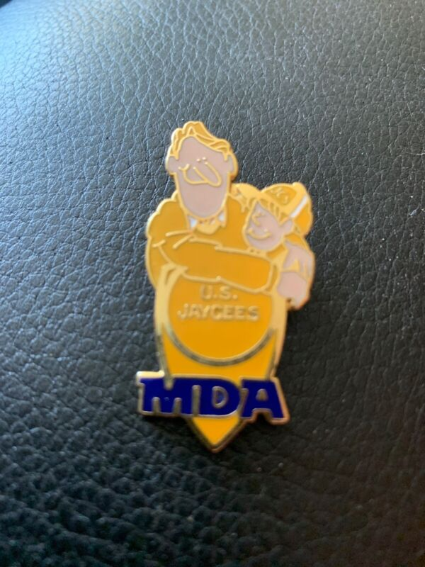 U.S. Jaycees MDA Hat Pin