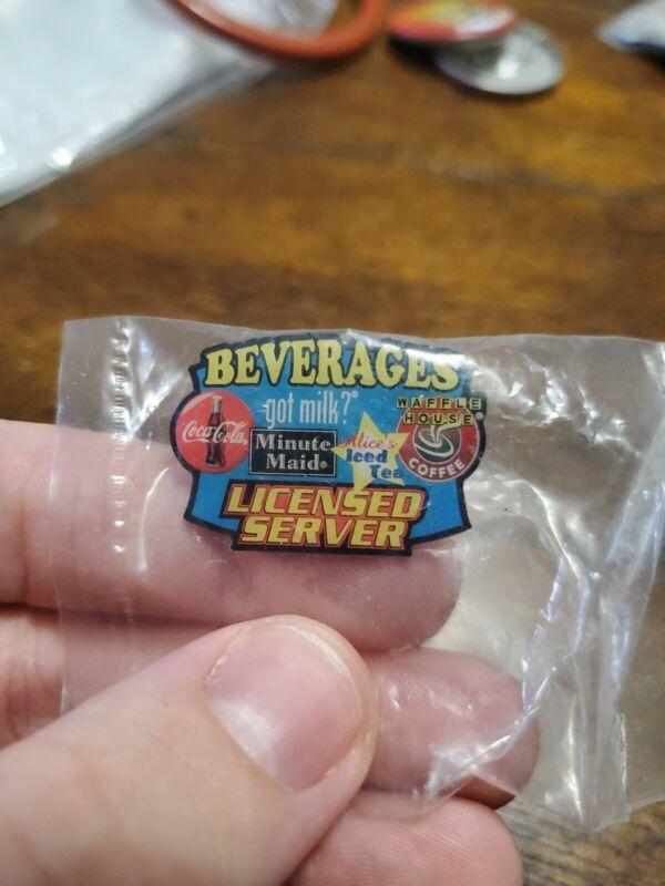 Vintage Waffle House Licensed Server Pin