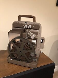 8 mm movie projector