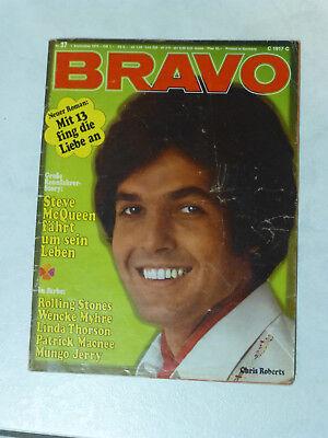 BRAVO Nr.37 v. 7.9.1970 Steve McQueen,Rolling Stones,Patrick Macnee,Wencke Myhre gebraucht kaufen  Üchtelhausen