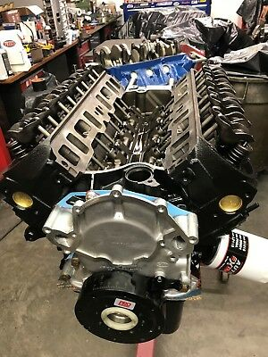 427 Ford Long block,Engine Cradle,With oil Pan & TC, Ford Iron heads Direct Fit