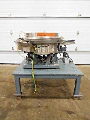 Ae-109 Quality Feeder Stainless Centrifugal Vibratory Bowl Feeder W Rodix Cube