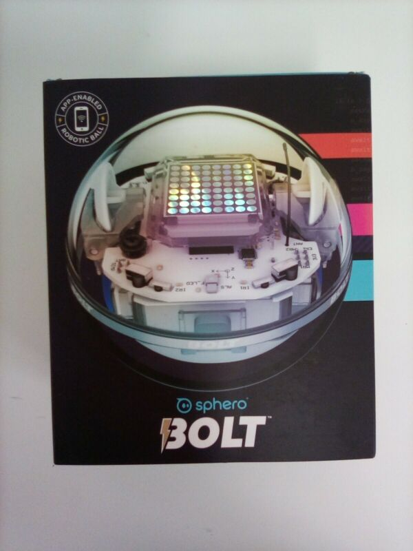 Sphero BOLT: App-Enabled STEM Robot Ball with Programmable Sensors + LED Matrix