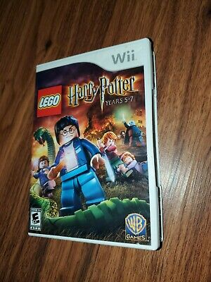 LEGO Harry Potter: Years 5-7 (Nintendo Wii, 2011) game  works great free ship