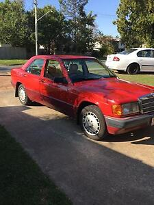 1990 Mercedes-Benz 190 Sedan up 4. Swap rego Bray Park Pine Rivers Area Preview