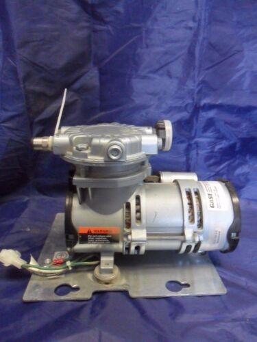 Nice Gast Vacuum Pump LOA-P103-HD Volts 230/220 Amps 8/9 Compressor