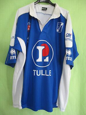 7f2d2a2a955c Maillot Rugby SCT Tulle Manche Longue Vintage Jersey Bleu - XXL