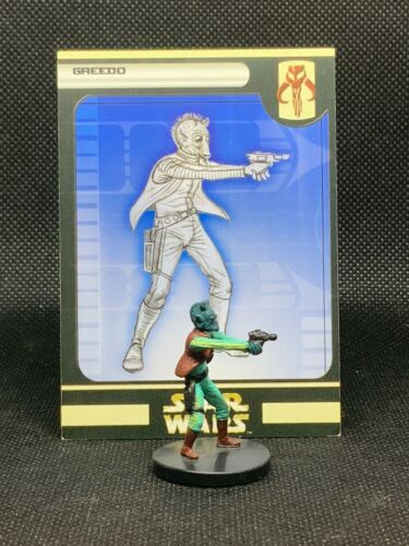 Star Wars Miniatures: Rebel Storm - Greedo (55/60)