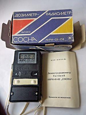 Dosimeter Anri-01-02 Anri-01 Sosna Geiger Counter 2 Sbm-20 100 Tested New Nos
