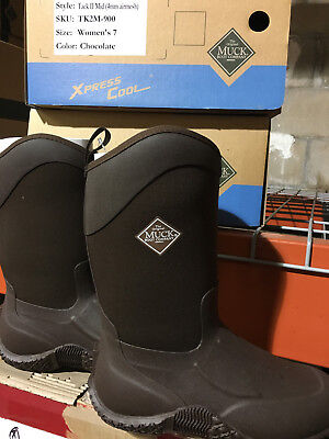 Muck Boot Momen's Tack II Mid (TK2M-900) Size 7 Muck, Tack