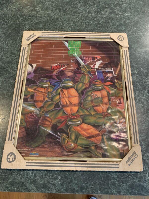 """Teenage Mutant Ninja Turtles TMNT Attack poster 22.5 x 34/"""""""