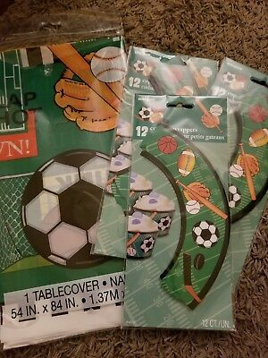 Sports theme party supplies