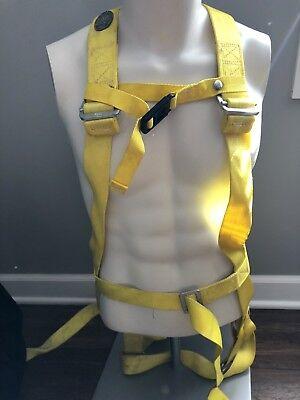 Miller Full Body Safety Climbing Harness 8602 Medium Used Free Ship