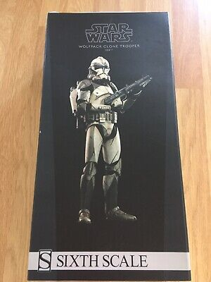 Wolfpack Sideshow 1/6 Clone Figure 104th Battalion Militaries Of Star Wars