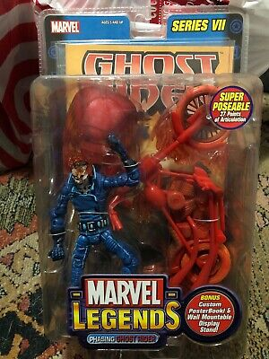 Marvel Legends Phasing Ghost Rider Variant Super Poseable Series 7 Chase