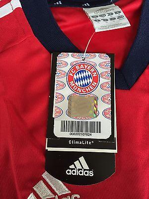 NEW Authentic Adidas Bayern Munich Germany Soccer Jersey - Champions League UEFA