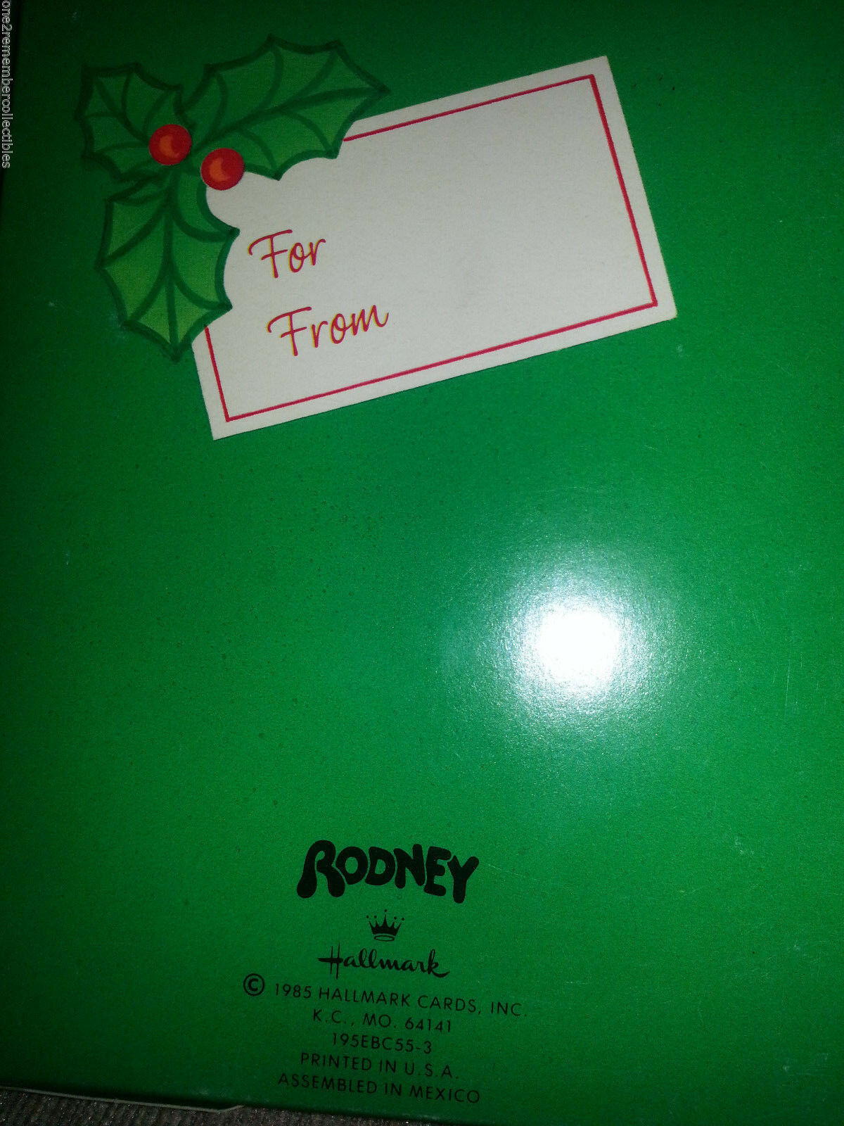 10 of 11 hallmark 1985 money holder rodney reindeer christmas card box pop up vintage new - Christmas Card Money Holder