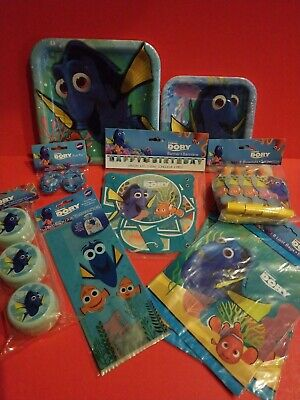 Finding Nemo Party Decorations (Disney Finding Dory Nemo Birthday Party Supplies NEW)