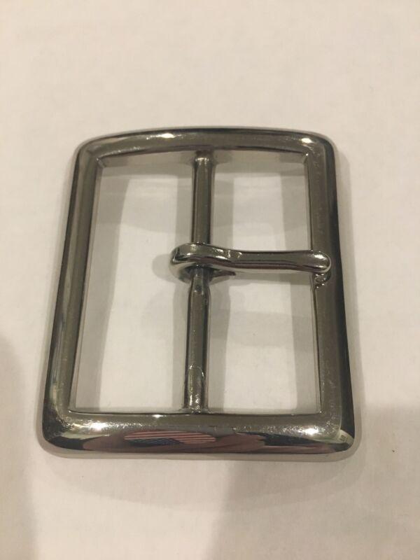 Work Duty Nickel Silver metal Garrison belt buckle, Single Latch 1