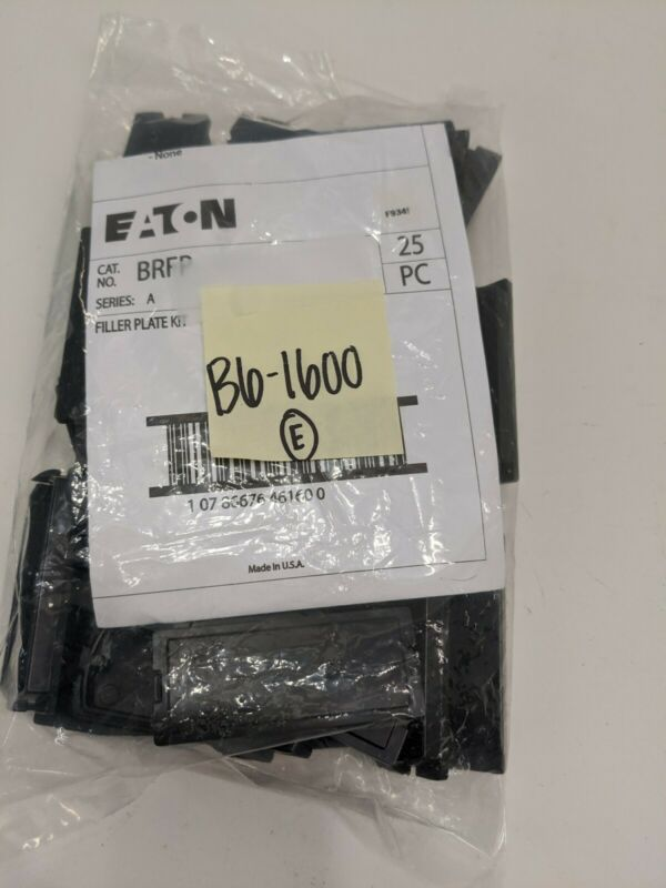 (Bag of 25) Eaton BRFP, Filler Plate Kit