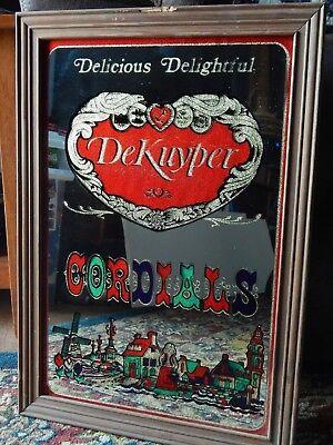 John DeKuyper & Son ~Elmwood Place, Ohio~ [14'' x 20''] Bar Pub Schnapps MIRROR