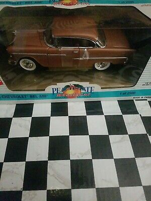 1:18 Ertl PeachState Muscle Car 1955 Chevrolet Bel Air in Bronze 7021