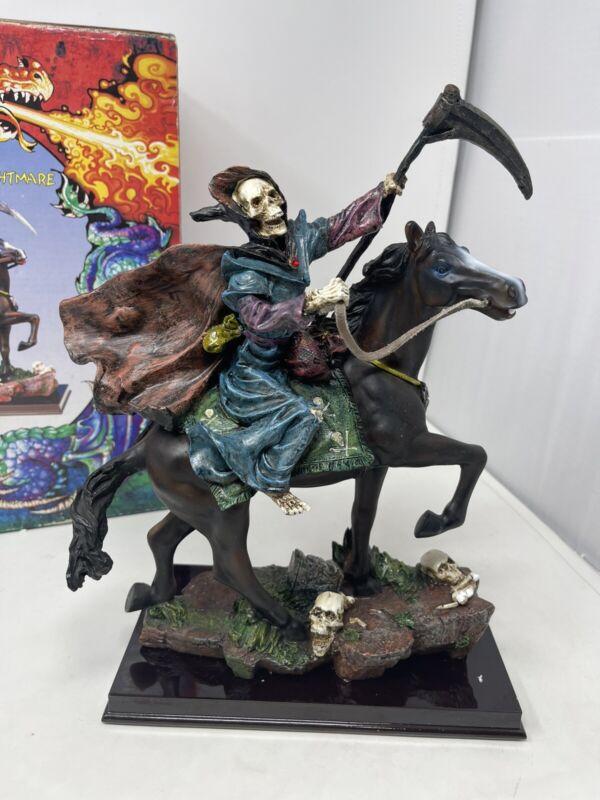Vintage Grim Reaper on Nightmare Statue Trippie's INC