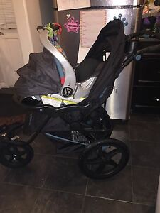 Baby trend stroller car seat and base