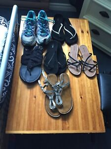 Woman's shoes all size 9
