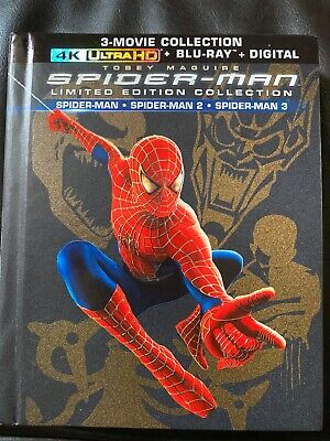 Spiderman 1,2,3 limited edition collection (4K UHD + Bluray) No digital
